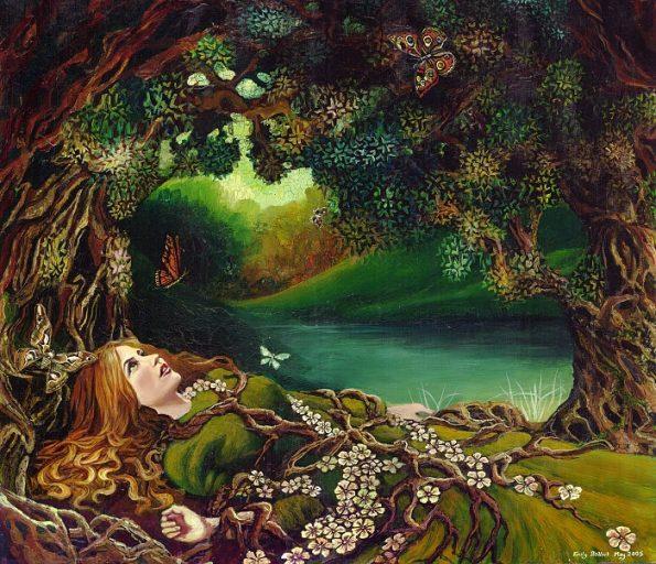 Goddess-under-tree